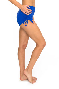 Dharma Bums SUPPLEX HIGH WAIST SHORT - AZURE