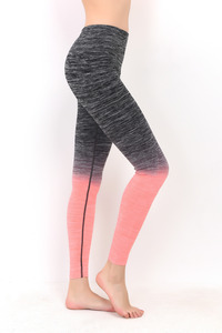 ITZON LONG LEGGING BLACK+N.CORAL