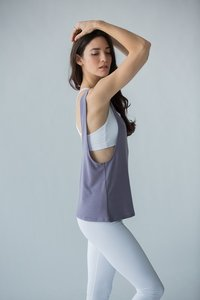 [해외배송][몬티엘]Montiel HARPER TANK IN HEATHERED LAVENDER