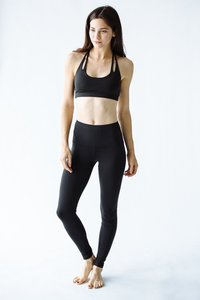 [해외배송][몬티엘]Montiel HIGH WAISTED FONDA LEGGING IN BLACK