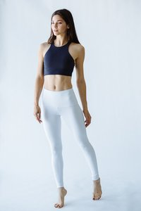 [해외배송][몬티엘]Montiel HIGH WAISTED FONDA LEGGING IN WHITE