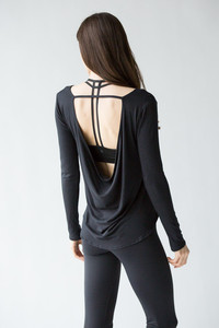 [해외배송][몬티엘]Montiel Carly Long Sleeve Black