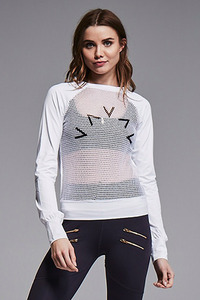 VARLEY Wellesey Sweat White