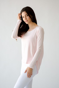 [해외배송][몬티엘]Montiel Carly Long Sleeve Blush