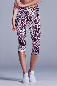 VARLEY Pico Tight Burgundy Python