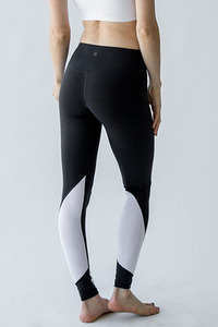 [해외배송][몬티엘]Montiel Tori Two Toned Legging Black